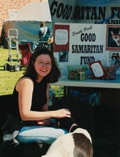 Michele Knight at Burro Days