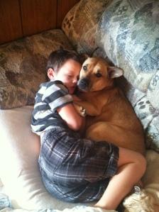 Jacob sleeping with an Angel